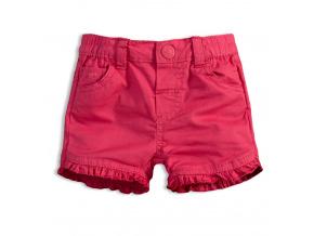 Dívčí šortky KNOT SO BAD BABY růžové
