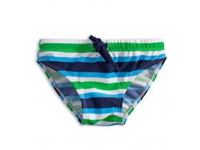 Chlapecké plavky KNOT SO BAD PROUŽKY zelené