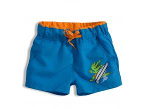 Chlapecké plavky KNOT SO BAD CROCODILE modré