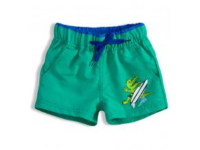 Chlapecké plavky KNOT SO BAD CROCODILE zelené