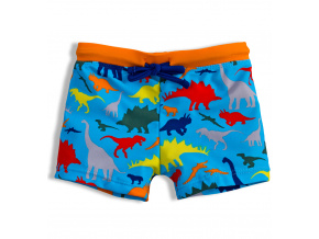Chlapecké plavky KNOT SO BAD DINOSAUŘI modré