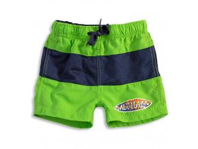 Chlapecké koupací šortky KNOT SO BAD SURF BOARD zelené