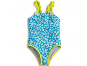 Dívčí plavky KNOT SO BAD DAISY světle modré