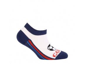 Chlapecké kotníkové ponožky WOLA GOAL modré