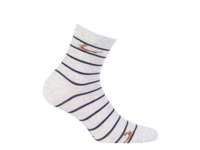 Dívčí ponožky WOLA JEZEVČÍK šedé