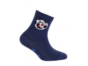 Chlapecké ponožky WOLA MÍČ tmavě modré