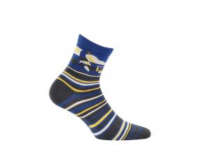 Chlapecké ponožky WOLA FOTBALISTA modré
