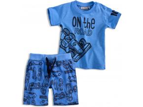 Chlapecký komplet Mix´nMATCH ROAD modrý