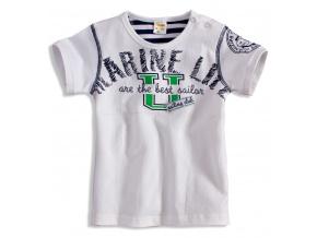 Dětské tričko DIRKJE MARINE bílé
