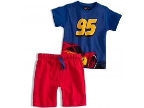 Chlapecká souprava Disney AUTA modré tričko