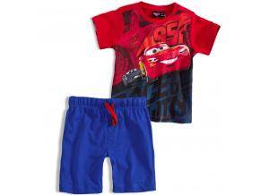 Chlapecká souprava Disney AUTA červené tričko