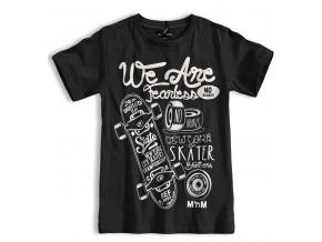 Chlapecké tričko Mix´nMATCH SKATER černé
