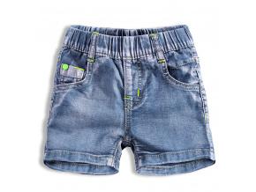 Chlapecké džínové šortky KNOT SO BAD TRIP světle modré