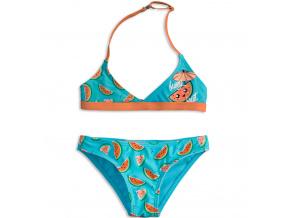Dívčí plavky KNOT SO BAD FUNNY FRUIT oranžové