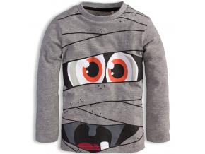 Chlapecké triko KNOT SO BAD MONSTER šedé