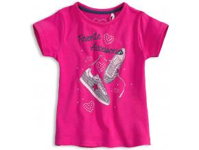 Dívčí tričko KNOT SO BAD Accessories růžové