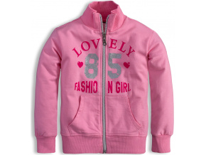 Dívčí mikina Mix´nMATCH FASHION růžová
