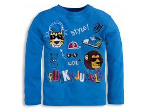 Chlapecké triko Mix´nMATCH JUNGLE modré
