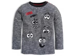 Chlapecké triko KNOT SO BAD LOOK šedé