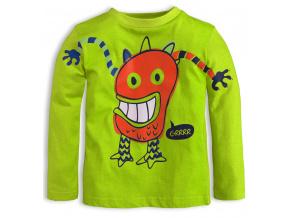 Dětské triko KNOT SO BAD MONSTER zelené