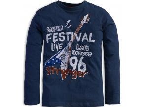 Chlapecké triko KNOT SO BAD FESTIVAL modré