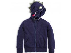 Dětská mikina MixnMATCH DRAGON modrá