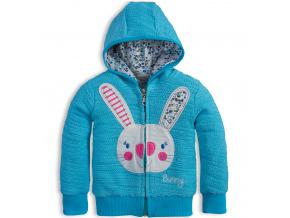 Dívčí mikina Mix´nMATCH BUNNY modrá