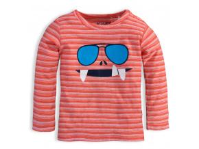 Chlapecké triko KNOT SO BAD GLASSES oranžové