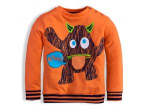 Dětská mikina KNOT SO BAD DEMON oranžová