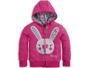 Dívčí mikina Mix´nMATCH BUNNY růžová