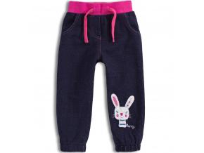 Kalhoty pro holčičky Mix´nMATCH BUNNY růžový pas