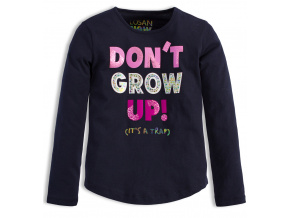 Dívčí triko LOSAN DON´T GROW modré