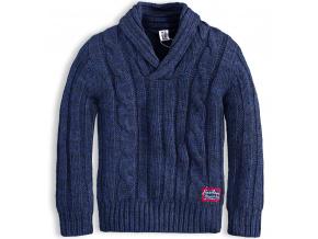 Chlapecký svetr PEBBLESTONE HERITAGE modrý