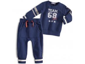 Chlapecká souprava DIRKJE FRESH TEAM modrá jeans