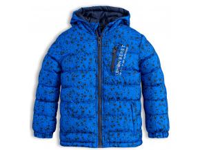 Chlapecká zimní bunda LEMON BERET PLAYGROUNG modrá