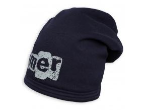 Chlapecká zimní čepice YETTY GAMER tmavě modrá