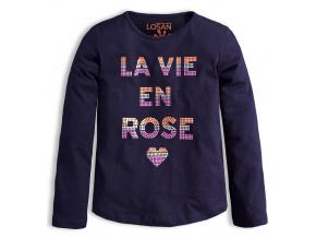 Dívčí triko LOSAN ROSE modré