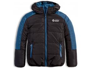Chlapecká zimní bunda LEMON BERET EARTH černá