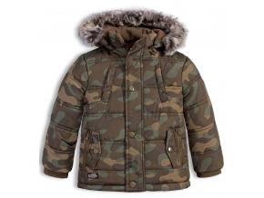Chlapecká zimní bunda LOSAN SNOWBOARD khaki