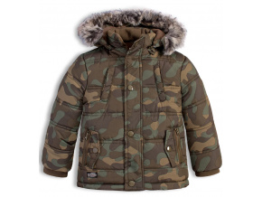 33cc7b6654a Chlapecká zimní bunda LOSAN SNOWBOARD khaki