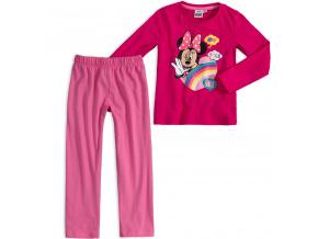 Dívčí pyžamo DISNEY MINNIE SMILE růžové