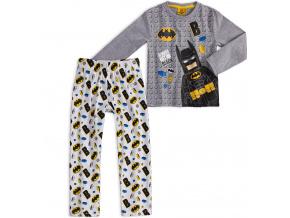 Chlapecké pyžamo LEGO BATMAN KOSTIČKY šedý melír