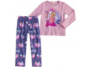 Dívčí pyžamo BARBIE JEDNOROŽEC růžové