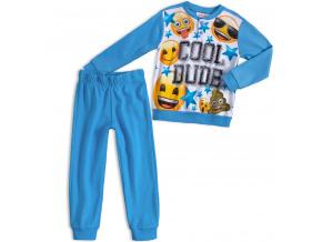 Chlapecké pyžamo EMOJI SMAJLÍK světle modré