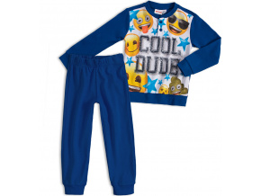 Chlapecké pyžamo EMOJI SMAJLÍK tmavě modré