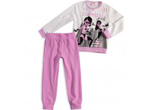 Dívčí pyžamo DISNEY INCREDIBLES ÚŽASŇÁKOVI fialové