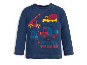 Chlapecké tričko KNOT SO BAD WORK tmavě modré