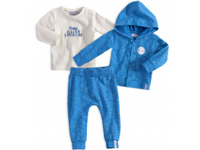 Kojenecká chlapecká souprava DIRKJE GRIS modrá e9c615f5d7