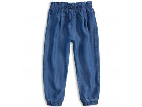 Dívčí volné kalhoty MINOTI RAINFOREST modré 45012c35ac