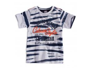 Chlapecké tričko PEBBLESTONE CUBAN STYLE tmavě modré